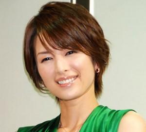芸能人ショートカット 吉瀬美智子さん