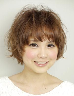 40代 髪型 ミディアム パーマ 丸顔☆似合うおすすめを教えて!