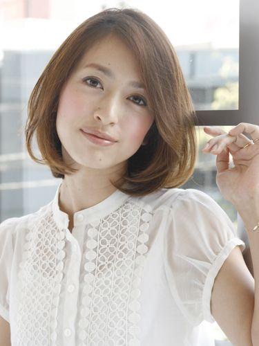 40代髪型 ロブ☆素敵な髪型をチェックしてみよう☆