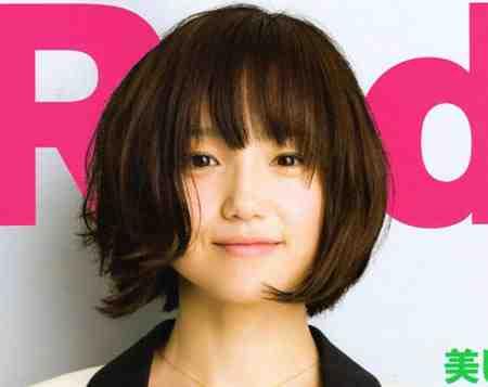40代髪型☆ショートボブで丸顔の芸能人をチェック!