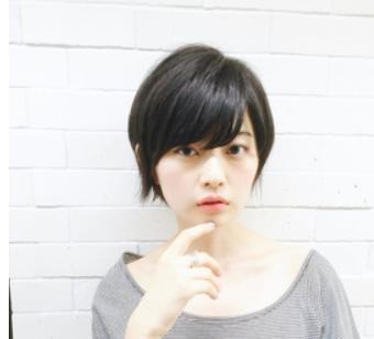 40代髪型☆黒髪ショートのかわいいスタイルを見てみよう♪