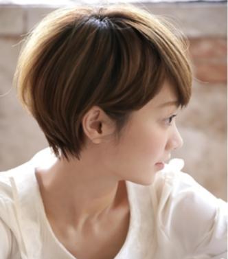 40代髪型☆ショートボブ前下がりの基本形はどんな感じなの?