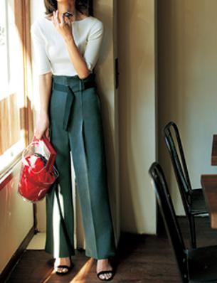 40代ファッション☆まだ寒いのでパンツが必需品!おすすめはどれ?