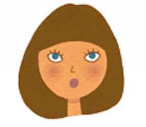 丸顔さんに似合う前髪、NGの前髪