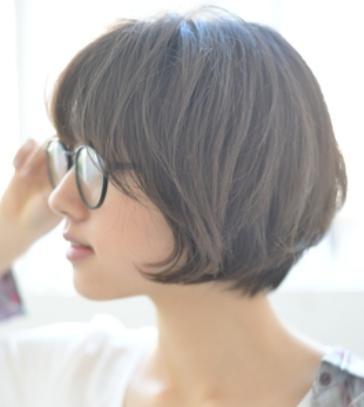 40代髪型☆いろんな「ショートボブ前下がり」をチェックしてみよう!!