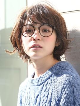 40代髪型☆面長さんは「ワイド感」を意識しよう♪