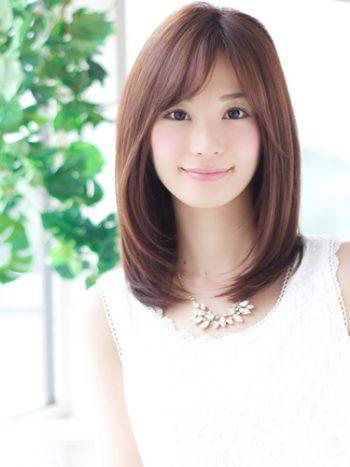 40代髪型☆ストレートロングで前髪はあり?なし?