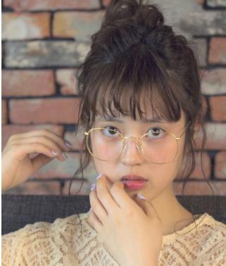 40代髪型☆ベース型ミディアムのヘアアレンジ