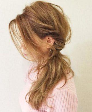 40代髪型☆ベース型 ロング・セミロングのヘアアレンジ