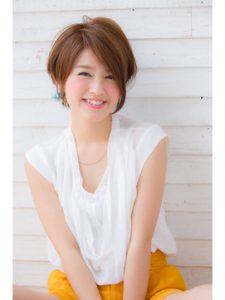 40代髪型 ショートボブ 前髪なし♡ステキな髪型をチェック!!