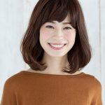 40代 髪型 ロブヘア☆前髪は?ふんわり感を出して大人かわいいスタイル♡