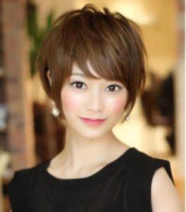 40代髪型 ショート 丸顔 太め☆気を付けるポイントは?