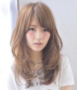 40代髪型☆丸顔さんに似合うセミロングをチェック!!